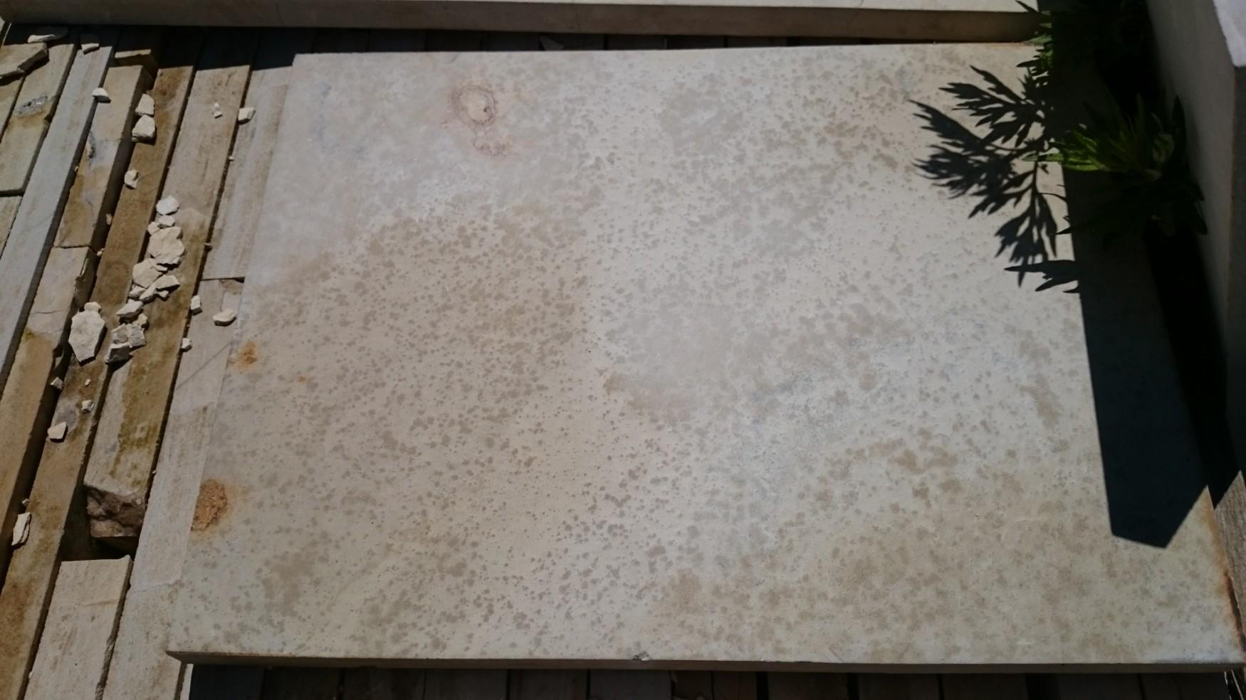 Плита антика 400*400*30 - плитка из природного камня для улицы