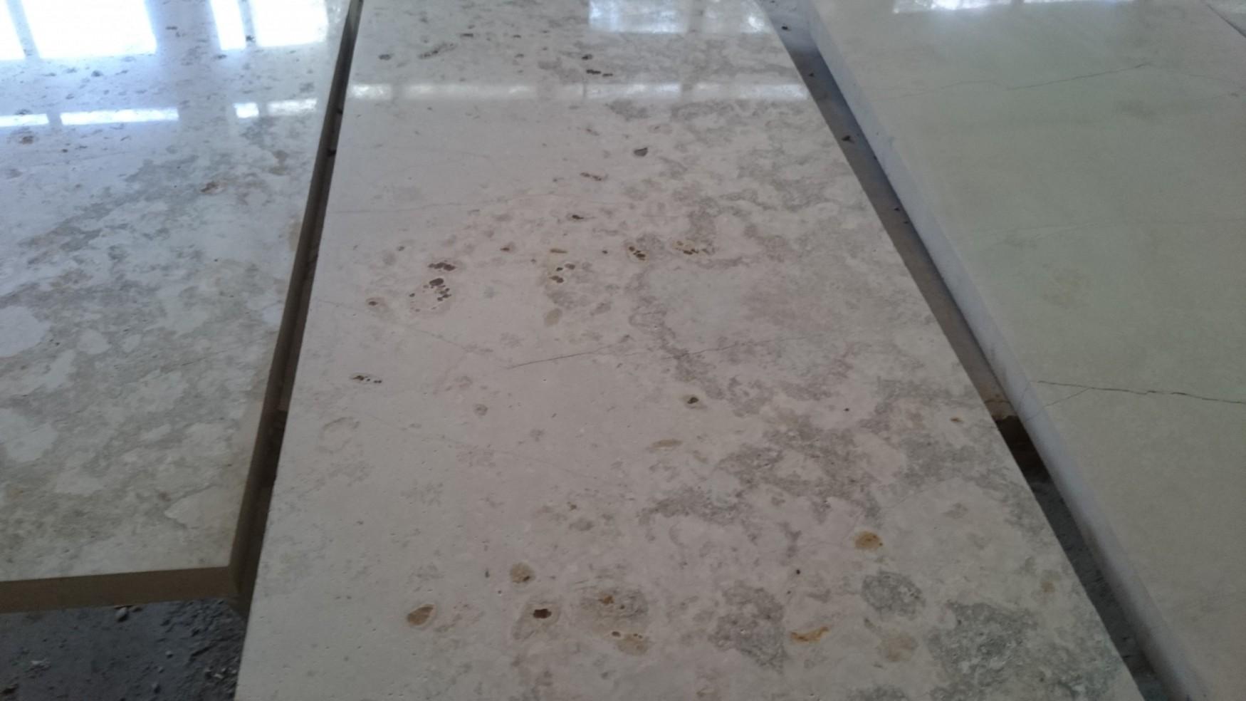 Плита доломит мерная полированная купить, фасадный камень