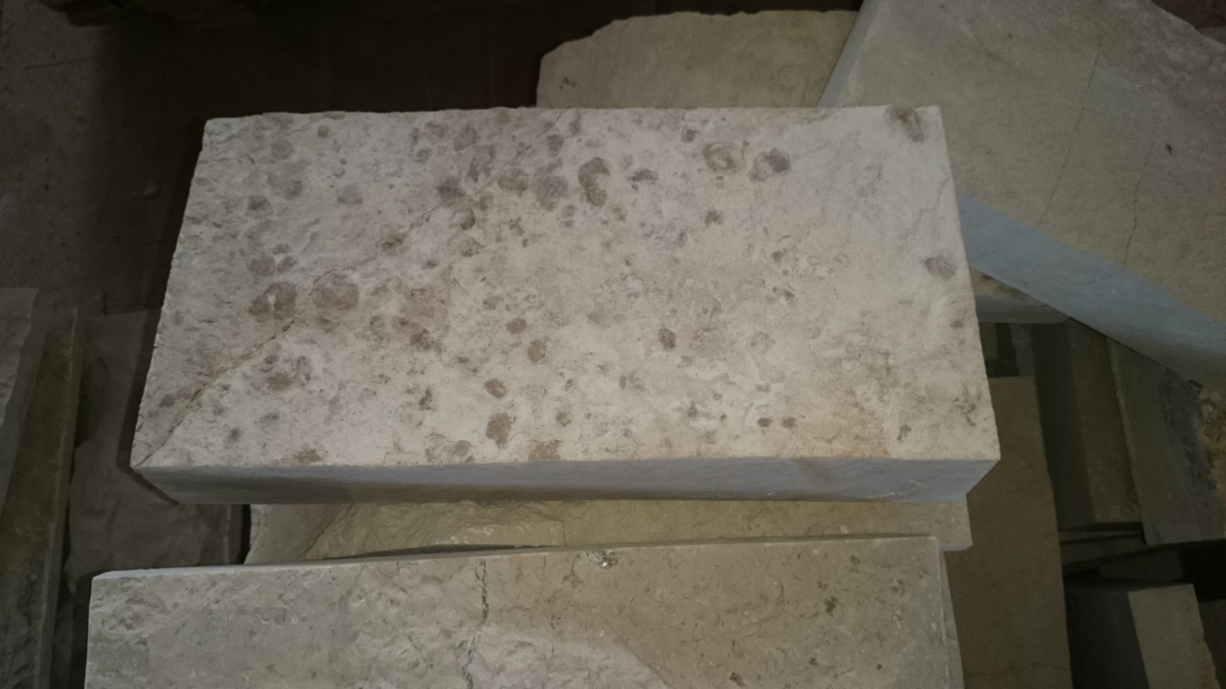 """Плитка """"Скала"""" без закола 300*600 - Серо бежевый камень на фасад"""