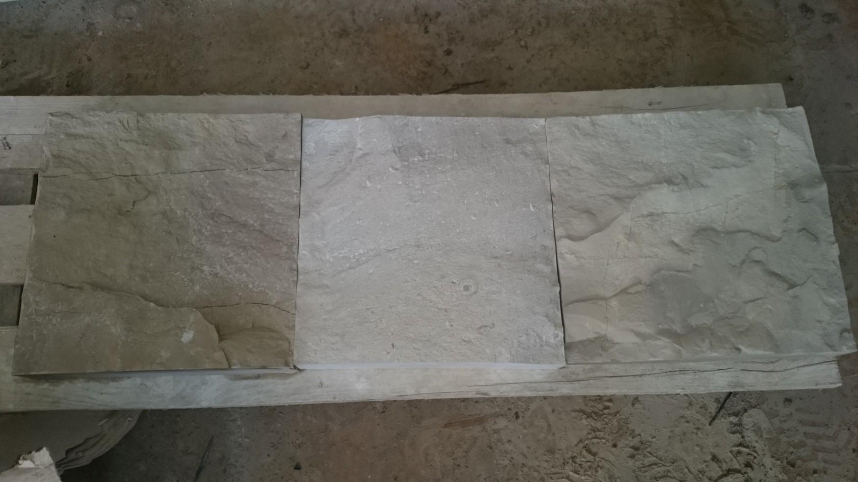 """Плитка """"Скала"""" двухсторонняя плоская 300*300 толщина 30-40 мм. - облицовочная плитка"""