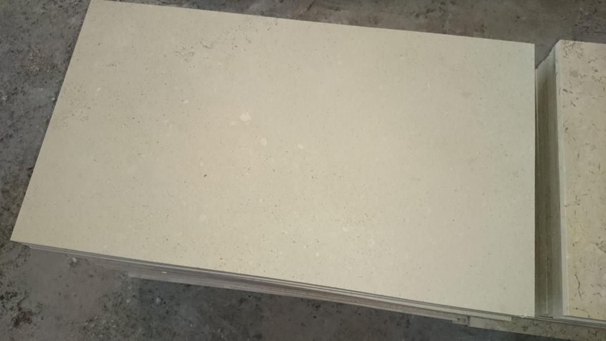 Плита лощеная доломит 600*300*20 - фасадный камень. Плитка лощеная.
