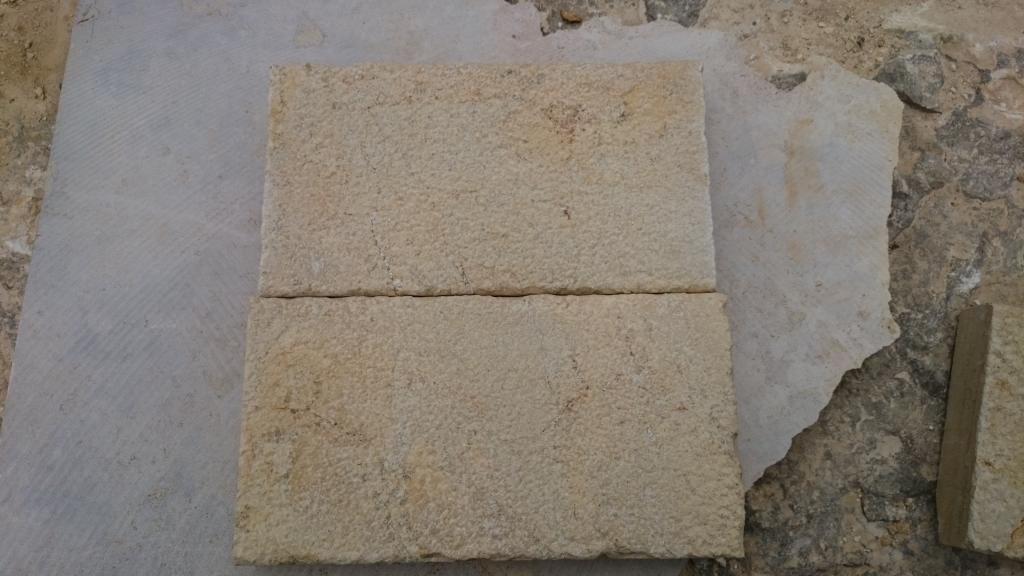 """Плита """"бучарда"""" 300*L*40 - камень для отделки стен"""