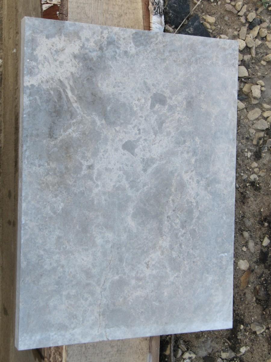 Плита шлифованная доломит новосельский мерная, природный камень для фасадов купить. Продажа